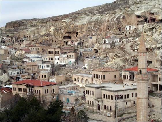 Ürgüp Tarihi evleri barınakları