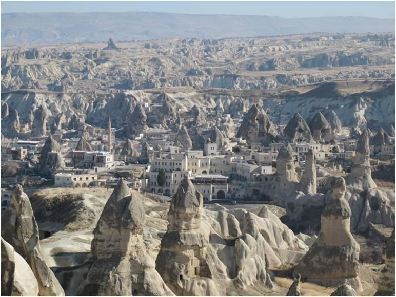 Göreme Kapadokya Nevşehir Peri bacaları