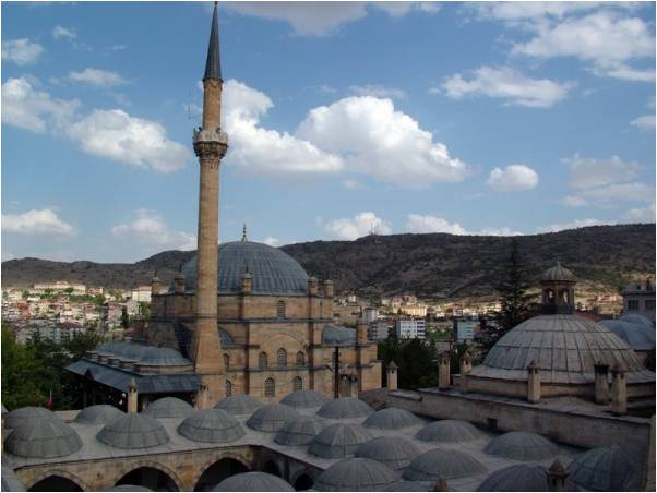 Nevşehirli Damat İbrahim Paşa Külliyesi Kurşunlu Cami
